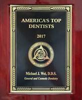 2017 Top Dentist Award